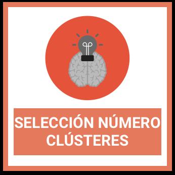 seleccionar número de clustering machine learning