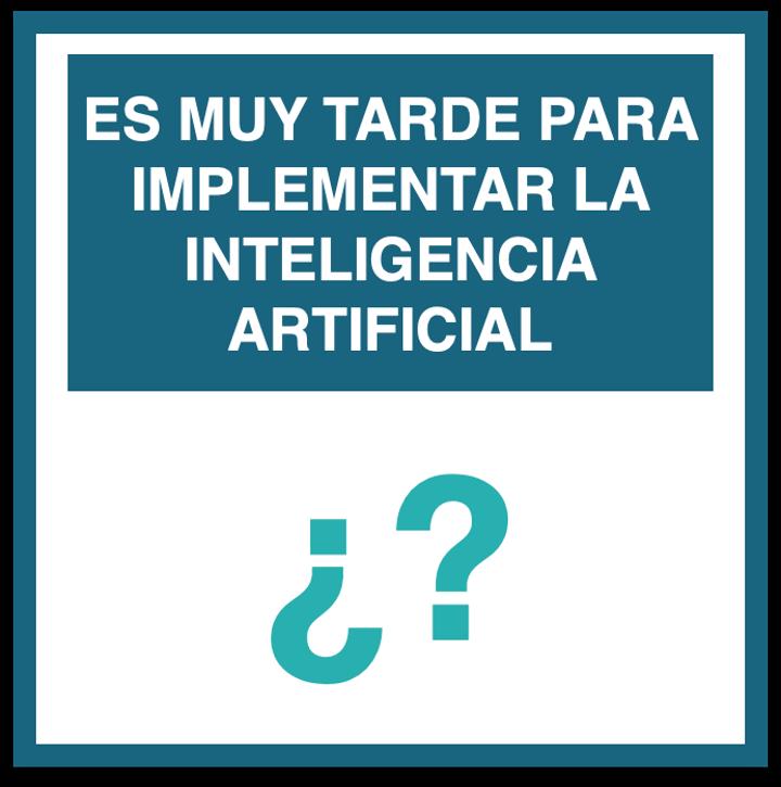implementar inteligencia artificial en negocio